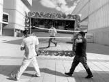 Imágenes de un fotógrafo argentino sobre la pandemia en Madrid